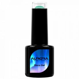 Oja Semipermanenta Disco Aurora Secret 15ml, Culoare Verde, No. 08, Cantitate 15ml