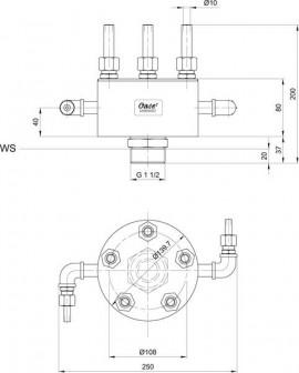 Rotating nozzle 5 - 15 E