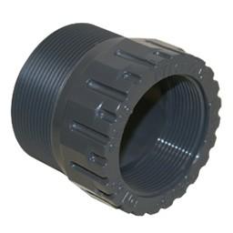 Mufa PVC-UH cu filet interior si exterior