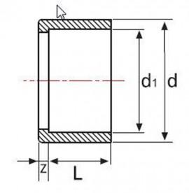 Reductie scurta PVC-UH