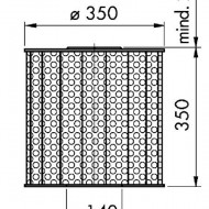 Sorb filtrant 350/350/125 E
