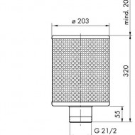 Sorb filtrant 200/250/25 E