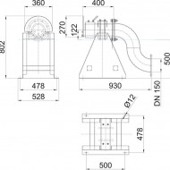 Water Screen Nozzle 45 x 15