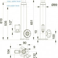 AirNozzle vertical 15 E