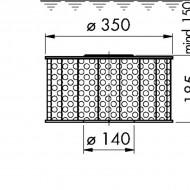 Sorb filtrant 350/185/80/100E