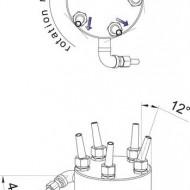 Rotating nozzle 5 - 30 E