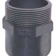 Adaptor PVC-UH lipire si filet exterior