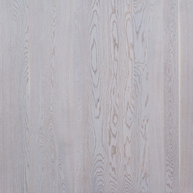 Parchet triplustratificat Focus Floor 1 strip OAK ETESIAN WHITE MATT LOC - 1011061563911175 | parchet.ro