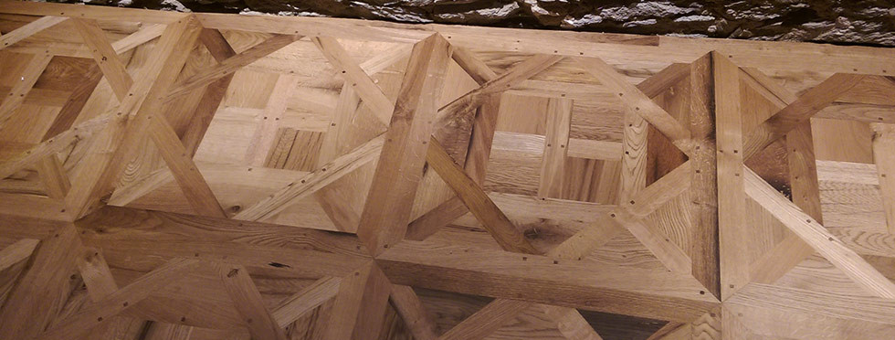 Traditional D'Aremberg parquet panels