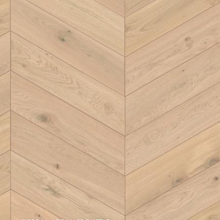 chevron massive oak rustic parquet 60 degree sierra London 4v