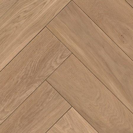 Herringbone Parquet Oak Nature - Sand 4V
