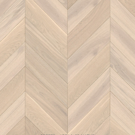 chevron 45 degree oak natural parquet Breeze Canterbury 4v