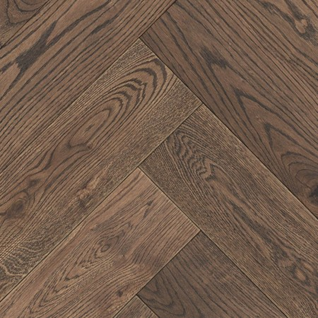 Herringbone Parquet Oak Nature - Dusk 4V