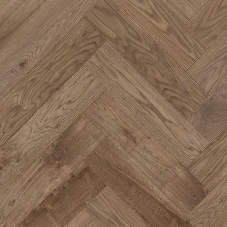 Herringbone Parquet Oak Rustic - Copper 4V