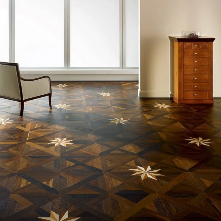 3 Layer Royal Star - Oak Golden Varnish Natur TEK