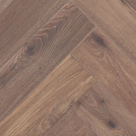 Herringbone Parquet Oak Rustic - Moss 4V
