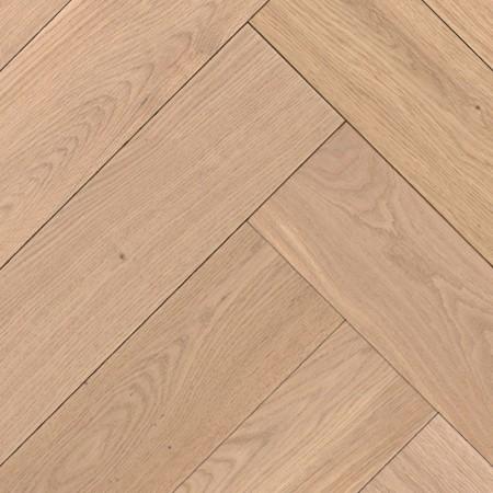 Herringbone Parquet Oak Rustic - Steppe 4V