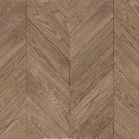 chevron 45 degree oak natural parquet Copper Leicester 4v