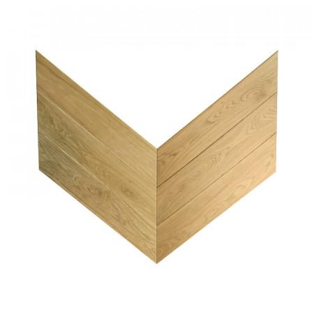 engineered pattern chevron - oak select raw 4V King's Lynn