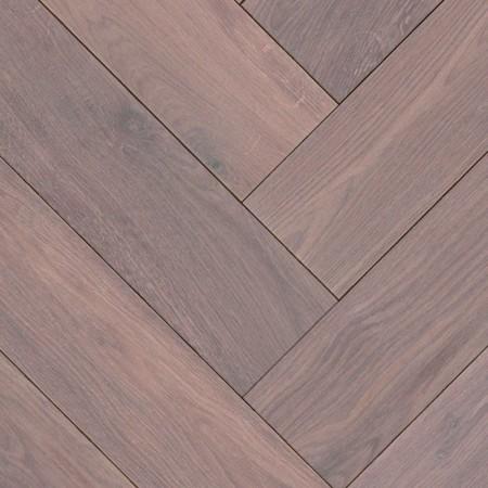 Herringbone Parquet Oak Rustic - Storm 4V