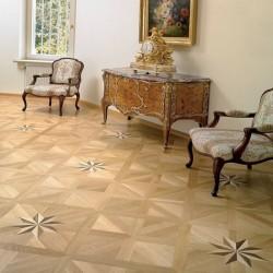 3 Layer Royal Star - Oak Varnish Natur TEK