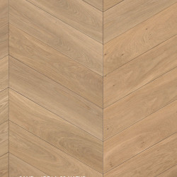 Chevron Engineered Oak - Sand Cardiff 4V