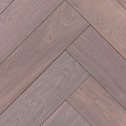 Herringbone Parquet Oak Nature - Storm 4V