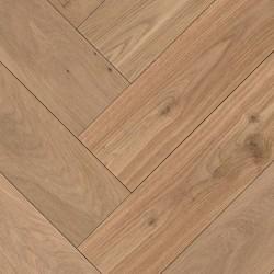 Herringbone Parquet Oak Rusitc - Sand 4V