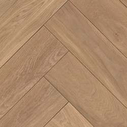 Herringbone Parquet Oak Nature - Sand 4V