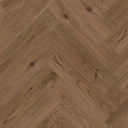Herringbone Parquet Oak Rustic - Cloud 4V