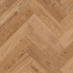 Herringbone Parquet Oak Rustic - Amber 4V