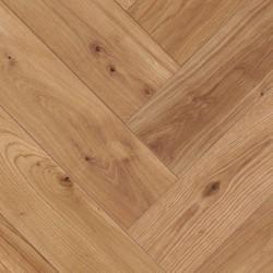 Herringbone Parquet Oak Rustic - Sienna 4V