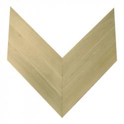 Chevron Solid Wood Oak prime - Unfinished Stamford