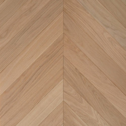 Engineered Chevron Oak 2Layer Parquet - Raw 4V Grimsby