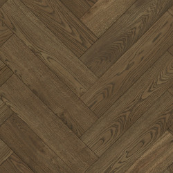 Herringbone Solid Wood Parquet Oak - Tabaco 4V