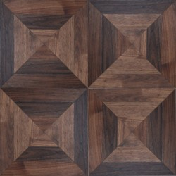 Solid Berlin Panel - Walnut Natur BRUT GUN