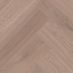Herringbone Parquet Oak Nature - Sierra 4V