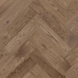 Herringbone Parquet Oak Rustic - Copper 4V