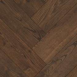 Herringbone Parquet Oak Nature - Lava 4V