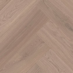 Herringbone Parquet Oak Nature - Sierra 4V