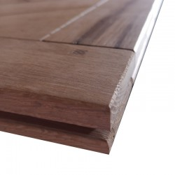 Solid Versailles - Old Oak, Beveled, Unfinished