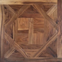 Multi-Layer D'Aremberg Pattern - Walnut, Smooth, Brut, LAR