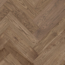 Herringbone Parquet Oak Nature - Copper 4V
