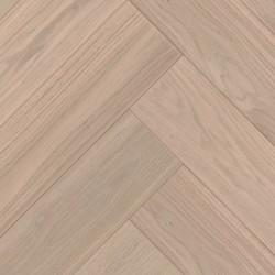Herringbone Parquet Oak Nature - Dust 4V