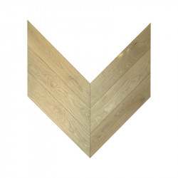 Engineered Oak Pattern Chevron - Raw 4V King's Lynn