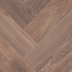 Herringbone Parquet Oak Nature - Moss 4V
