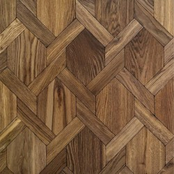 Multi-Layer Mansion Weave - Oak Natur Terra Oil LAR