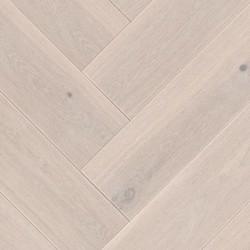 Herringbone Parquet Oak Rustic - Fiord 4V