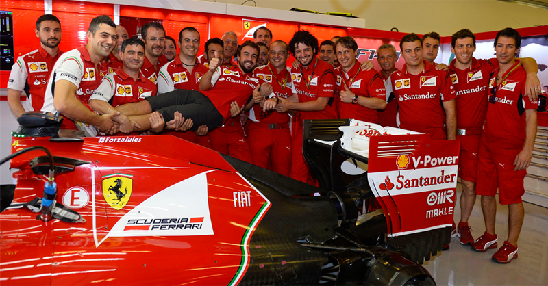 Watch A Rare Glimpse Behind The Scenes Of Fernando Alonso S Last Race For Ferrari