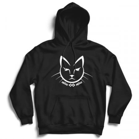 Hanorac cu gluga Pisica MiauMiau Basic